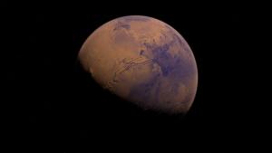 Ein Bild vom Planeten Mars