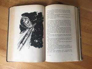 Blick ins Buch. Die Illustrationen sind von Hans Räde.