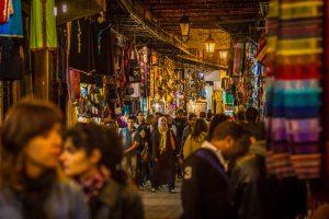 In den Souks von Marrakesch - Foto: Alexander Baumbach