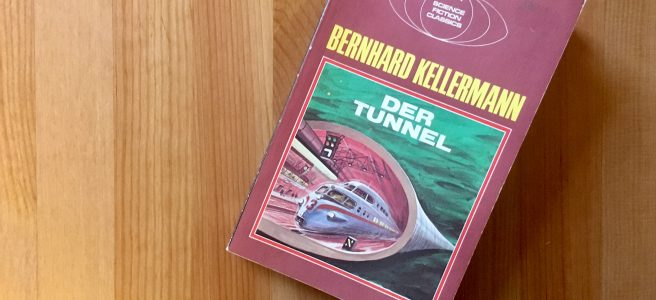 Der Tunnel - Buchcover - Bernhard Kellermann, Illustration von Karl Stephan, München