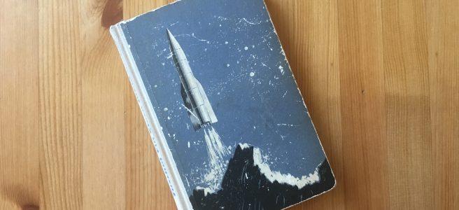 Ein Stern fliegt vorbei - Buchcover - Karl-Heinz Tuschel - Illustrator: Hans Räde