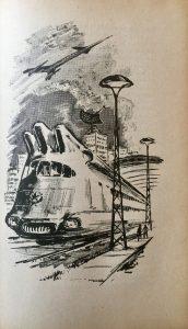 Die Unsichtbaren - Günther Krupkat - Illustration: Hans Rede - Atomexpreßzug