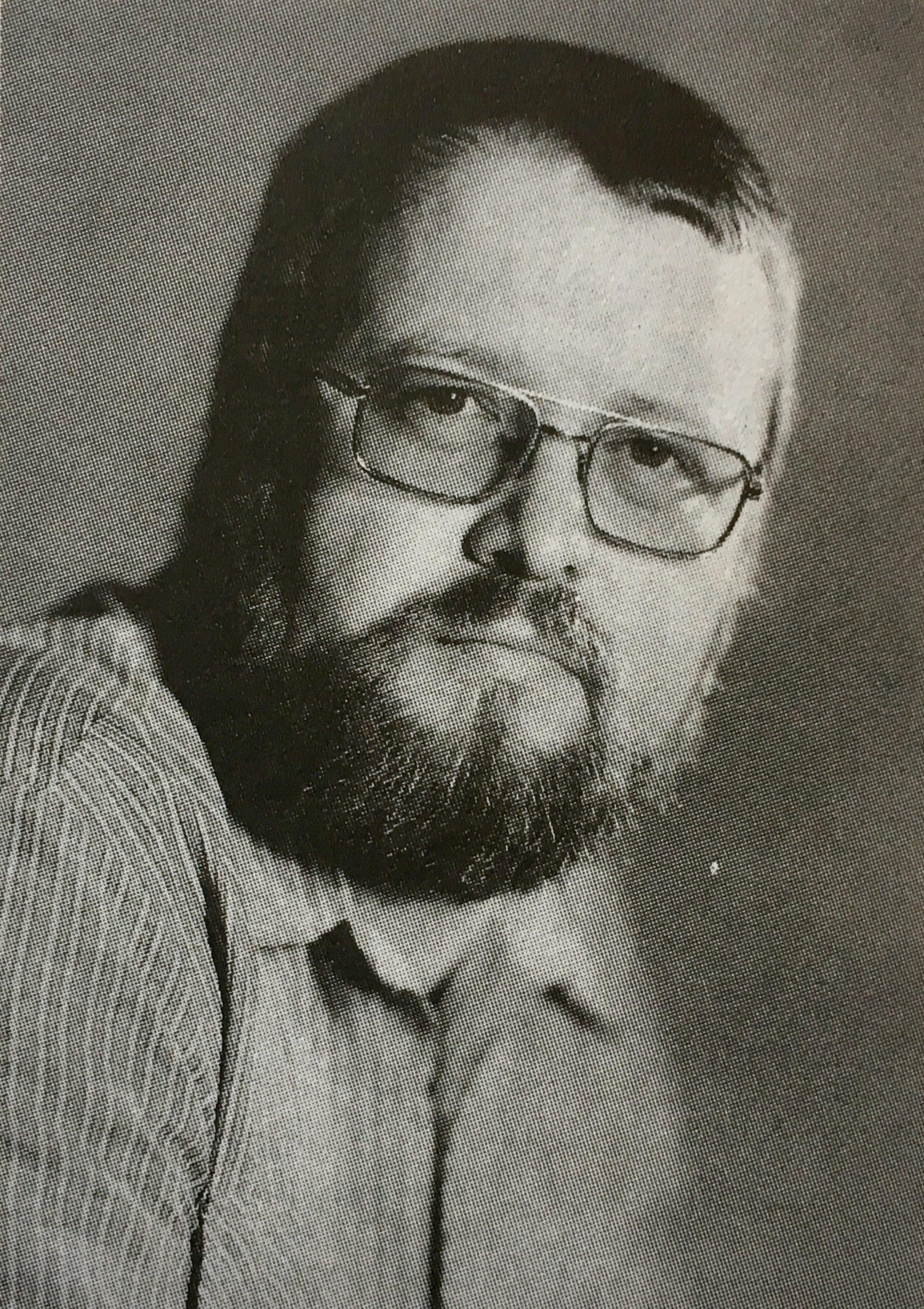 """Peter Lorenz, Foto: privat - aus """"Die Science-fiction der DDR - Autoren und Werke"""" von Simon und Spittel"""