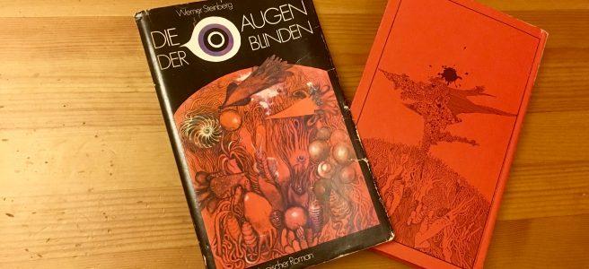 Die Augen der Blinden - Werner Steinberg - Schutzumschlag und Buchcover - Illustration: Klaus Ensikat