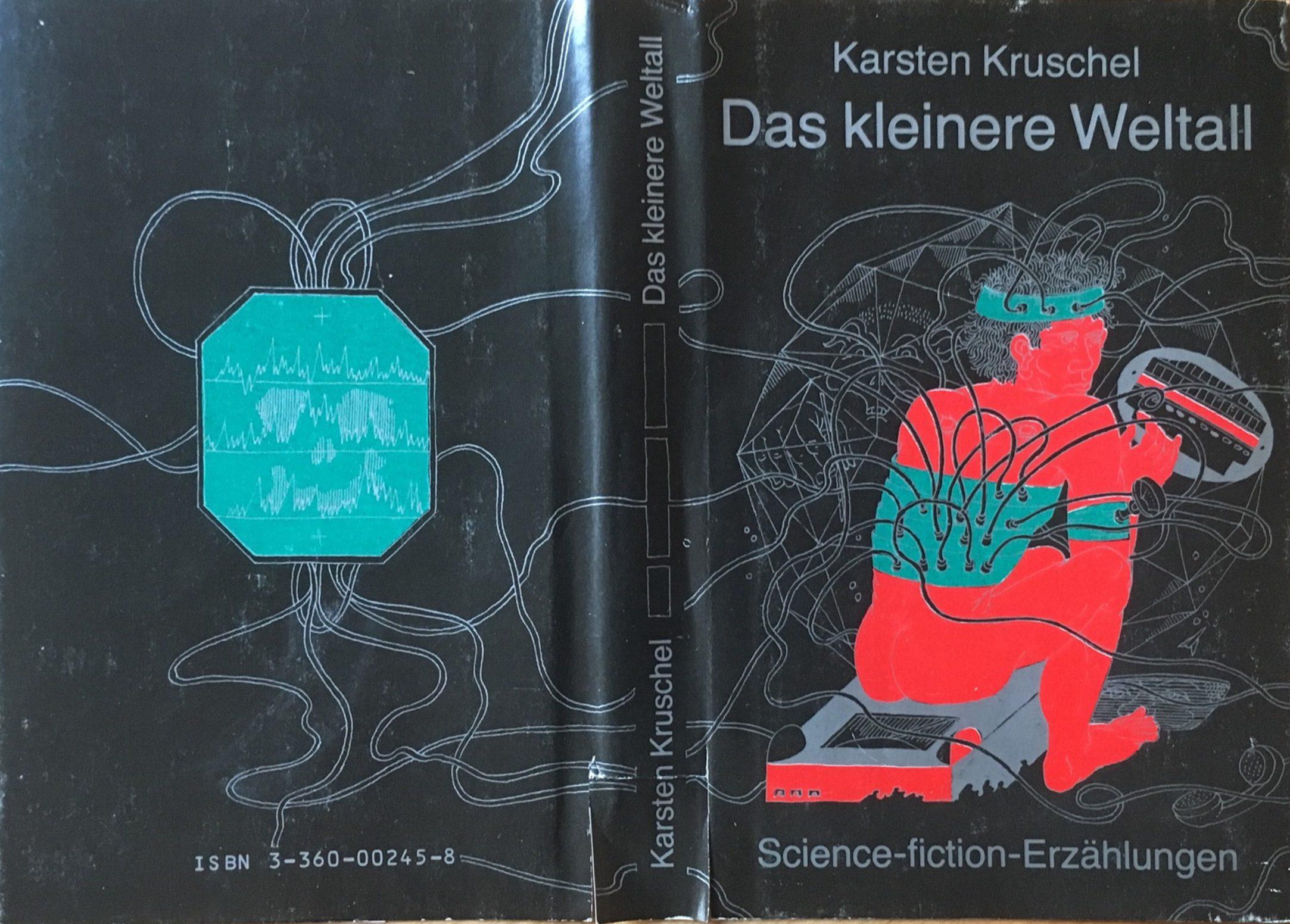 Das kleinere Weltall - Buchcover Schutzumschlag - Karsten Kruschel - Illustrationen: Dieter Heidenreich