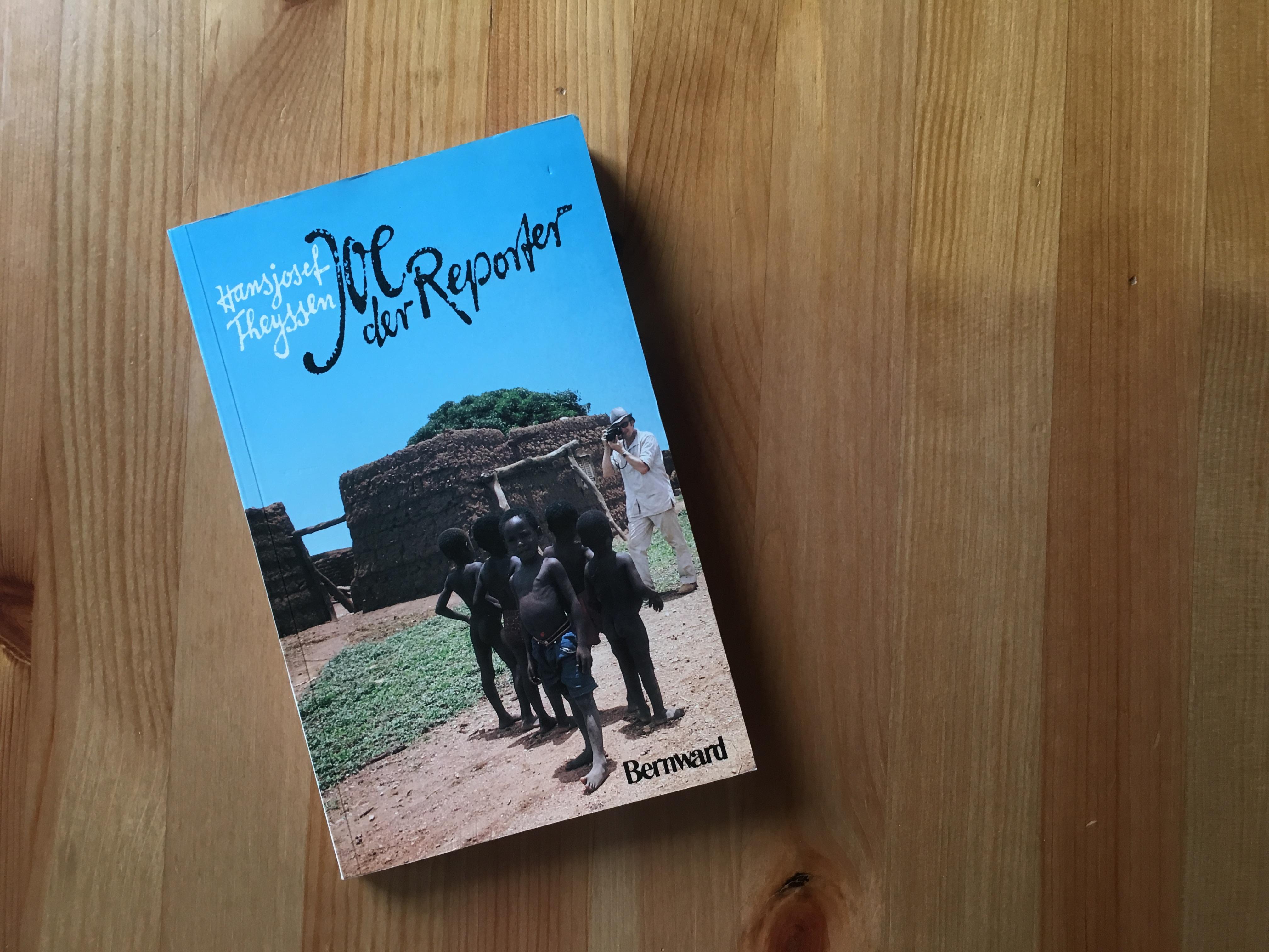 Joe, der Reporter - Buchcover - Hansjosef Theyssen