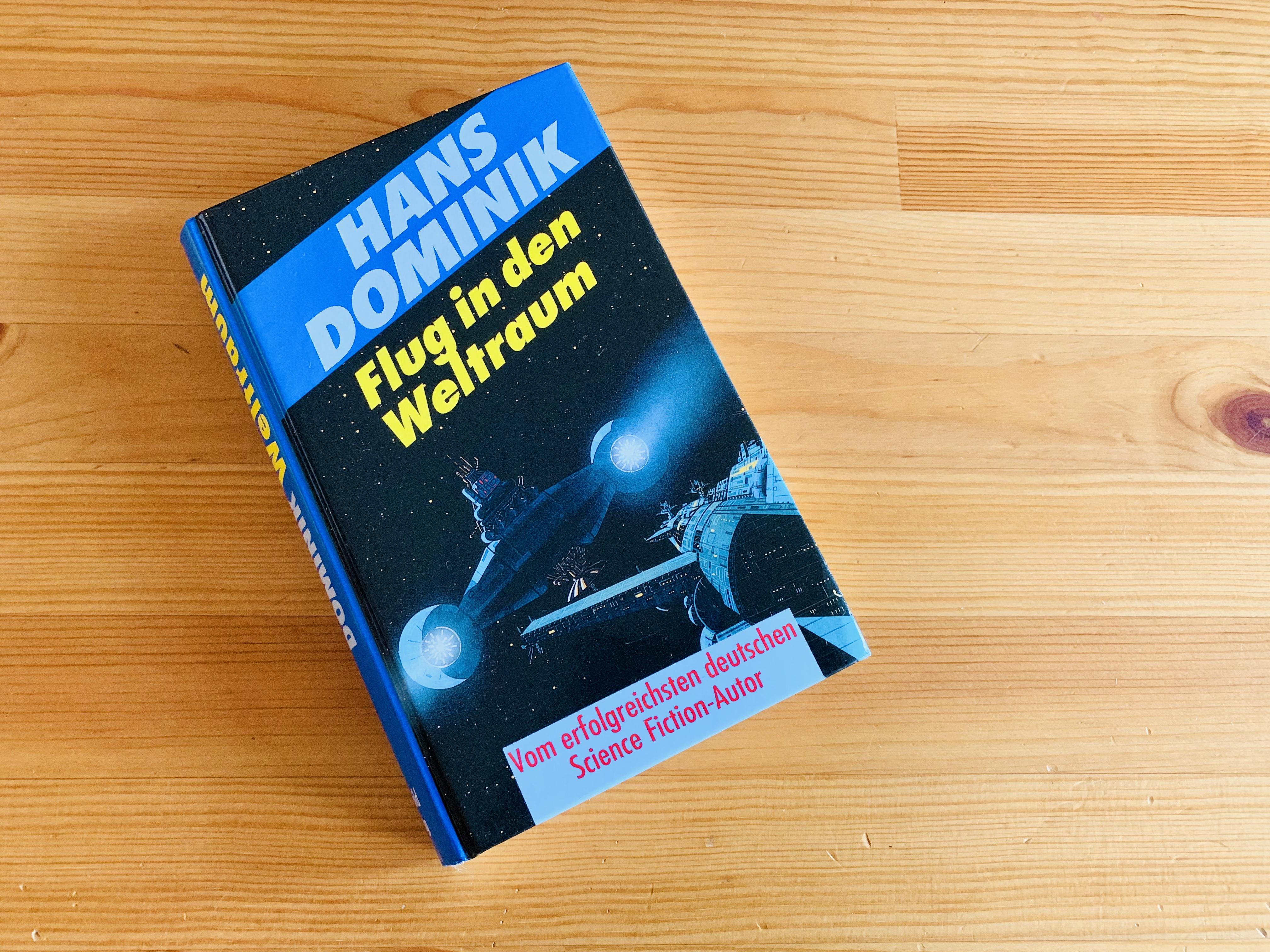 Flug in den Weltraum - Hans Dominik - Buchcover