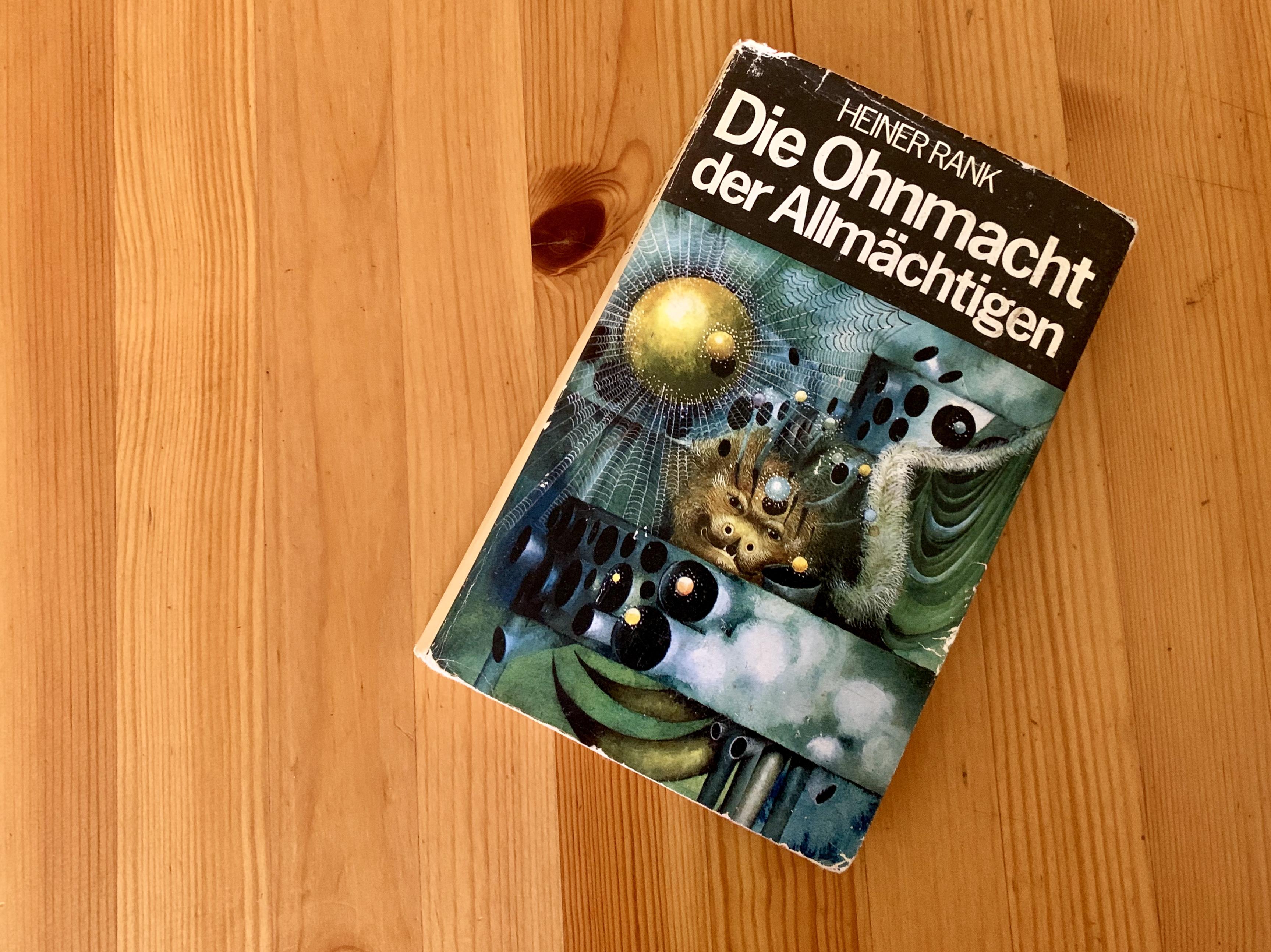 Die Ohnmacht der Allmächtigen - Heiner Rank - Buchcover - Umschlag: Carl Hoffmann