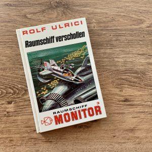 Raumschiff verschollen - Rolf Ulrici - Illustration: Franz Reins - Buchcover