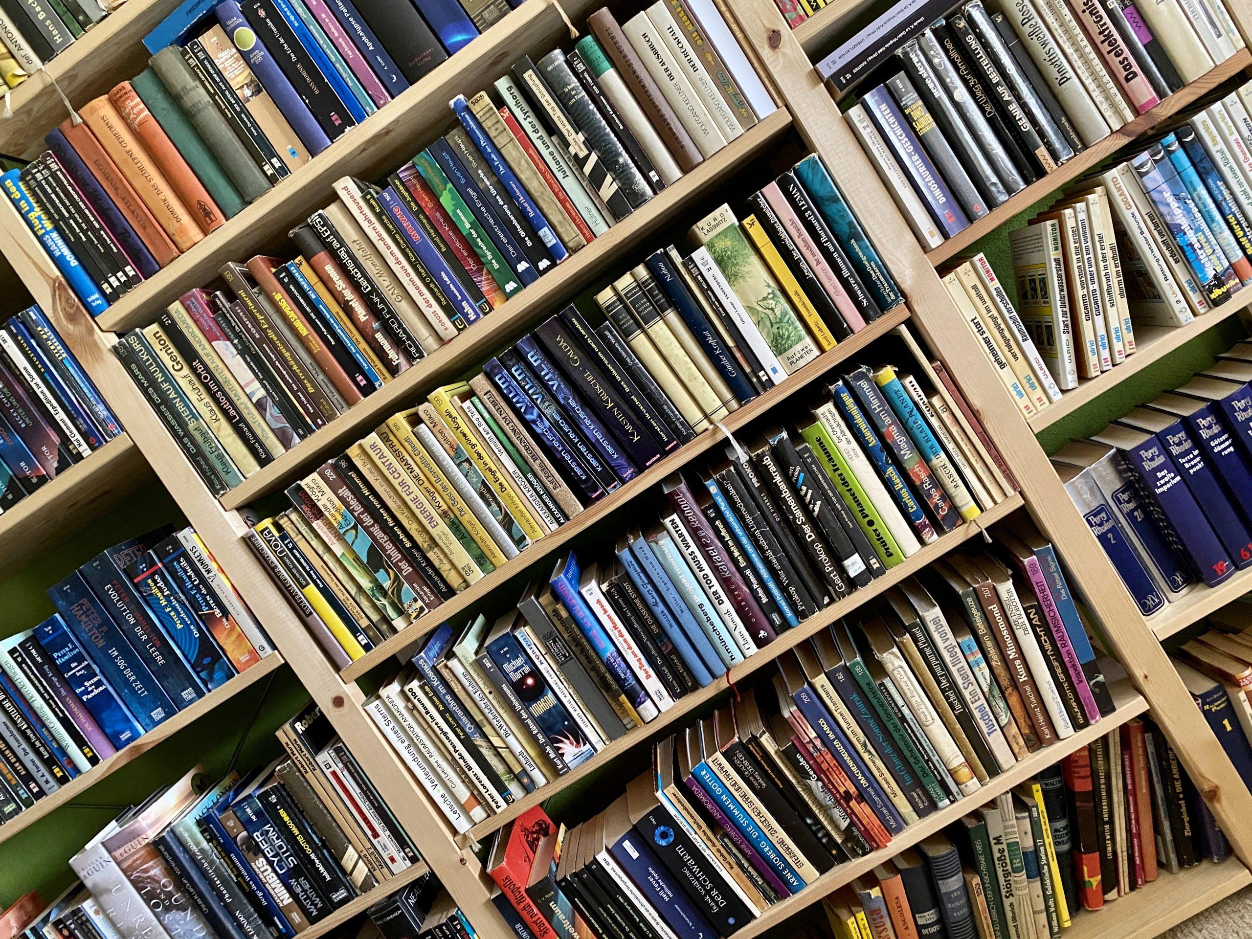 Reihenfolge ins Bücherchaos? Das geht jetzt online